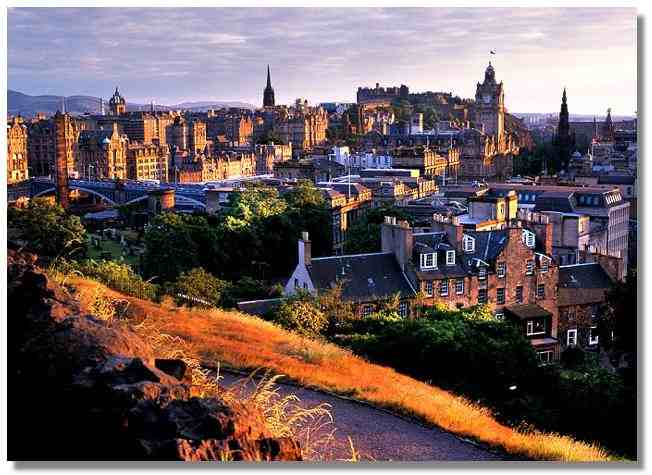 Edinburgh Castle and Attractions